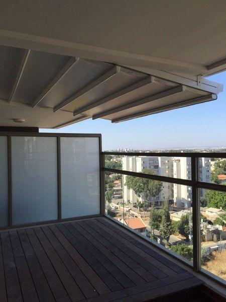 פרגולה מעוצבת למרפסת