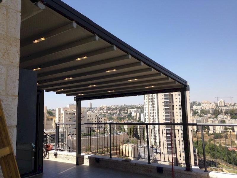 פתרונות קירוי למרפסת