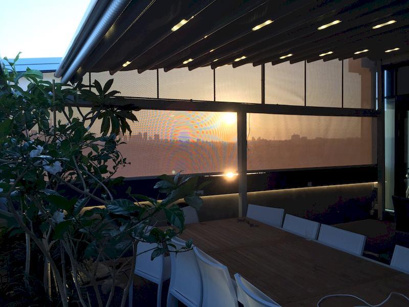 פרגולות למרפסות בתל אביב