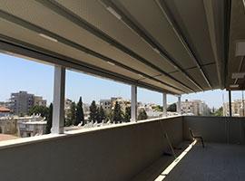 סגירת אלומינום למרפסת חורף